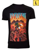 T-Shirt Large - Doom Eternal - Classic Boxart - Difuzed product image