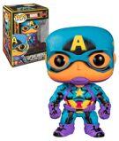 Marvel Black Light - Captain America Pop! Figurine product image