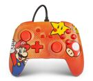 Nintendo Switch Enhanced Wired Controller - Mario Vintage - PowerA product image