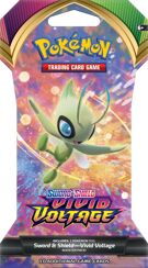 Pokémon TCG - Sword & Shield 4 Vivid Voltage - Sleeved Booster product image