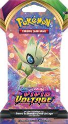 Pokémon TCG - Sword & Shield 4 Vivid Voltage - Sleeved Booster product image