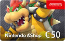 Nintendo eShop Kaart 50 Euro Tegoed (NL) product image