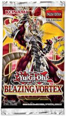 Yu-Gi-Oh! TCG - Blazing Vortex Sleeved Booster product image