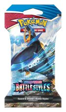 Pokémon TCG - Sword & Shield 5 Battle Styles - Sleeved Booster product image