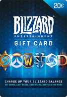 Blizzard Battle.net Gift Card 20 Euro Tegoed (België) product image