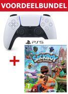 PS5 Dualsense Draadloze Controller + Sackboy - A Big Adventure Bundel product image