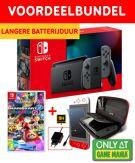 Nintendo Switch Grey Game Mania Starter Bundel + Mario Kart 8 Deluxe product image