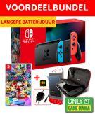 Nintendo Switch Neon Game Mania Starter Bundel + Mario Kart 8 Deluxe product image
