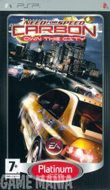 Need for Speed - Carbon - Own The City - Platinum product image