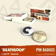 <p>Pre-order nu en ontvang op release exclusieve Pin Badges van Deathloop.</p>