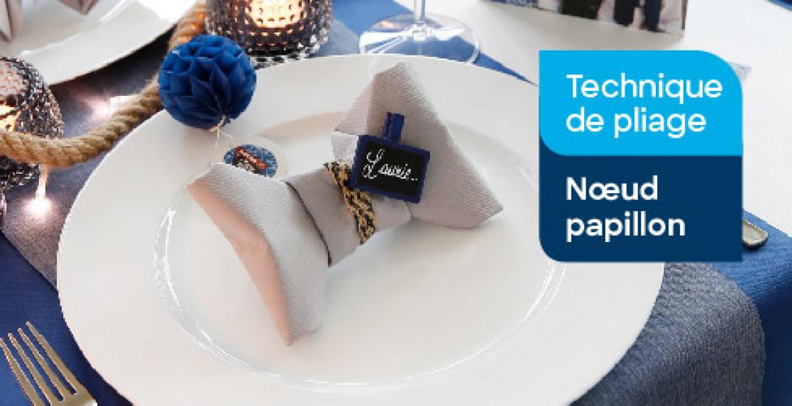 Technique De Pliage Noeud Papillon