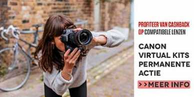 Canon Virtual Kit actie