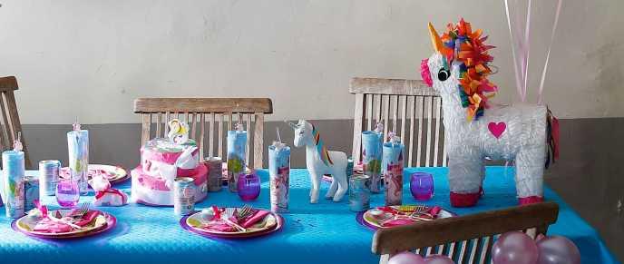 unicorn verjaardagsfeest